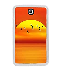 PrintVisa Animated Natural High Gloss Designer Back Case Cover for Samsung Galaxy Tab 3 (8.0) T310 T311 T315