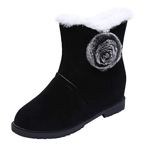Bottes de Neige, Manadlian Boot Hiver Femmes Bottes Fourrées Femme Casual Bottes Boots Chaussures