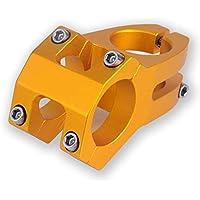 ZREAL 45mm Resistente Ligero 31.8mm CNC mecanizadas Manillar para XC Mañana MTB Bicicleta de montaña de Bicicleta, Dorado