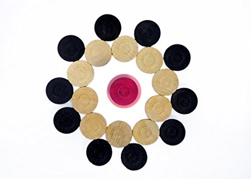 Suplex Wooden Carrom Coins(24 Carrom Coins with 1 Plastic Striker)  available at amazon for Rs.219