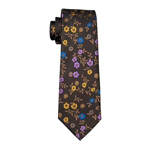 KYDCB Barry. Wang Schöne Qualität Mens Tie Floral Seide Jacquard Woven Gravata Krawatte Für Business Hochzeit Business-krawatte
