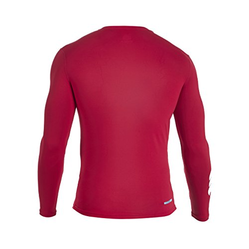 Canterbury Herren Bekleidung Long Sleeve Shirt Baselayer Cold Wärmend flag red