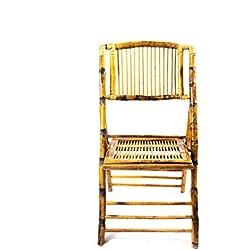Desconocido Silla Bambú Plegable