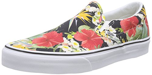 Vans Classic Slip-On, Sneakers Basses mixte adulte, Multicolore (Digi Aloha/Black/True White), 44 EU (9.5 UK)