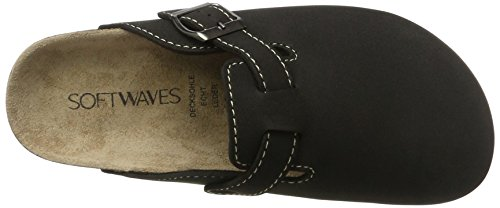 Softwaves 276 002, Zoccoli Donna nero (nero)