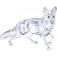 Swarovski 5135912 Schäferhund Figur Glas 6,7 x 8,4 x 3,7 cm, transparent