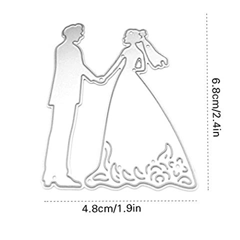 Enipate Mariage Scrapbooking DIY Album carte papier carte Maker en