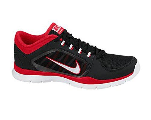 Nike Wmns Flex Trainer 4 - Sneaker per damen Black/Laser Crimson/Pure Platinum