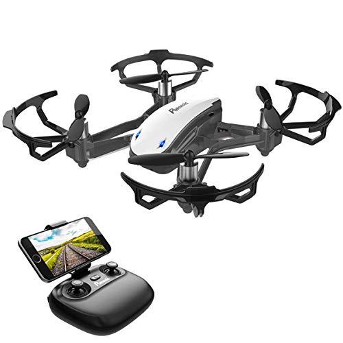 Potensic Drone avec caméra WiFi FPV Drone avec Caméra HD, D20 Fonction de Maintien de l'altitude,...