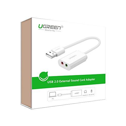 adaptador audio tarjeta de sonido amazon