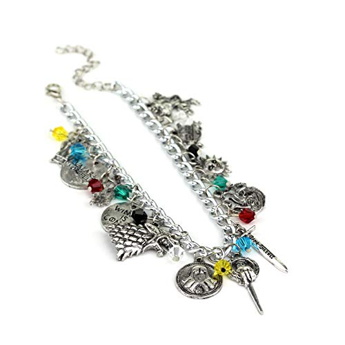 Yellow Chimes Game of Thrones Merchandise Charms Bracelet for Girls and Women