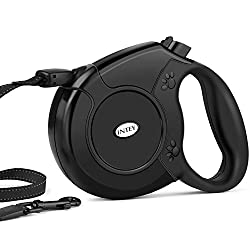 Intey Dog Lead Retractable Dog Leash For Small, Medium & Large Dogs Up To 50 Kg, 8m