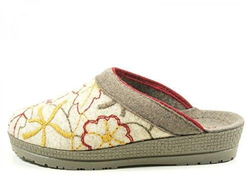 Rohde - 2289, Pantofole Donna Beige (Beige)