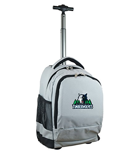 Denco NBA Expedition Rollrucksack, 48 cm, Grau, Unisex-Erwachsene, Expedition Wheeled Backpack, grau, 19