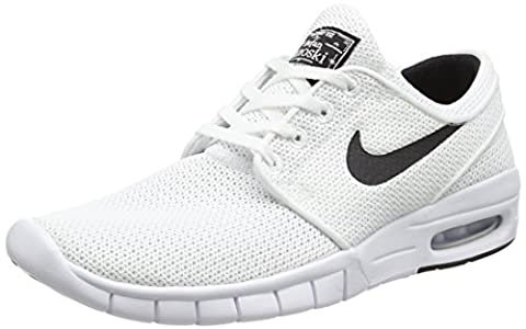 Nike STEFAN JANOSKI MAX, Unisex-Erwachsene Sneakers, Weiß (100 WHITE/BLACK), 46 EU