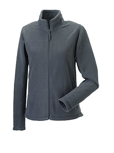 Damen Full Zip Fleece Burgund