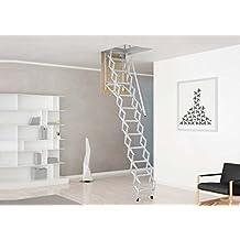 Mister Step Escalera Escamoteable Para Buhardillas ADJ Hu003d 325÷350 Cm. (130