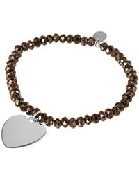 Bella Donna Damen-Armband 925 Silber