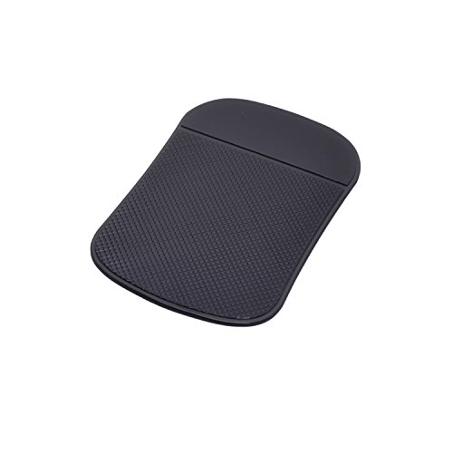 Preisvergleich Produktbild Oramics Anti-Rutsch-Matte Dash-Pad Haftmatte DAS ORIGINAL zur Ablage von Handy, Schlüssel, Brille, etc. (schwarz)