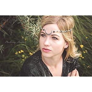 Haarband, Tiara, Stirnband – Mondsichel
