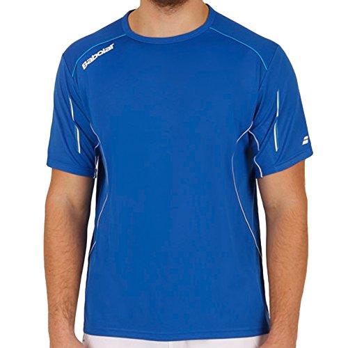 Babolat Jungen 'Match Core T-Shirt, Jungen, Match Core, blau, 12-14 Yrs