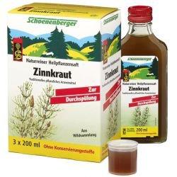 ZINNKRAUT SAFT Schoenenberger Heilpflanzensäfte 600 ml Saft