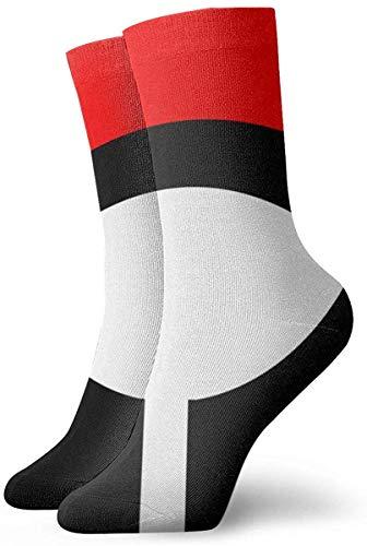 GanQuanXianYanCuiCuiZaoCanMianPiDian Nar-nute Verrücktes Design Training Socken Soft Herren Damen