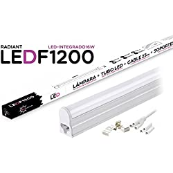 Tubo LED Integrado F1200 120CM 16W 6500K Luz Fría 1400LM Radiant