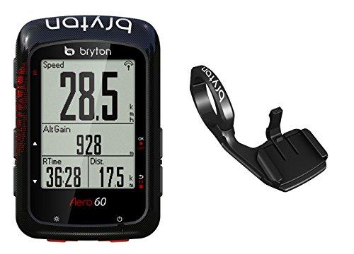 Bryton Aero 60E GPS para Ciclismo, Unisex Adulto, Negro, Talla Única