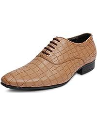 Bacca Bucci Men Brown PU Formals Shoes