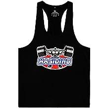 HASIDING Elástica Camisetas Sin Mangas Hombre Tank Top Gym Hombre Camisetas