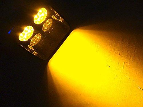 24W Windschutzscheibe S8Viper Auto Flash Signal Notfall Feuerwehr Polizei Beacon Warnung Light Amber LED Stroboskop (Alarm Strobe Light)