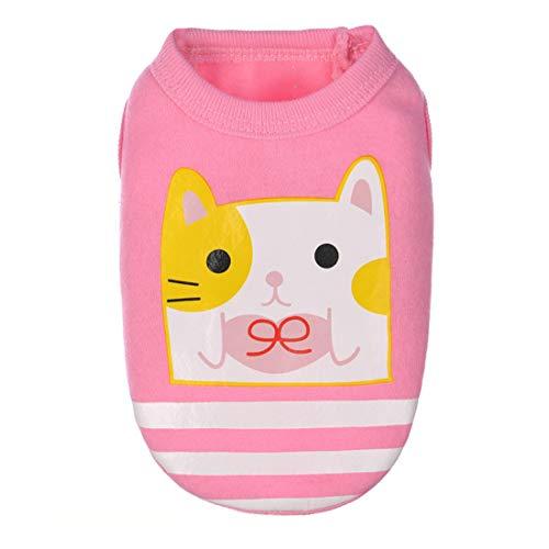 PZSSXDZW Pet Kleidung Süße Milchhundekleidung Kleiner Welpe Deer Dog Kleidung Mini-Hundekleidung Pink XX-Small