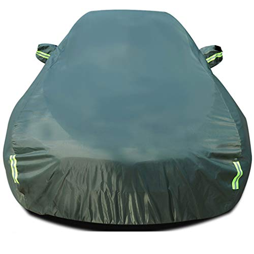 Car Hood Waterproof Car Cover, Full-Size Car Cover, Universal, Rugged, Outdoor (Color: Military Green, Size: Mazda CX-5)