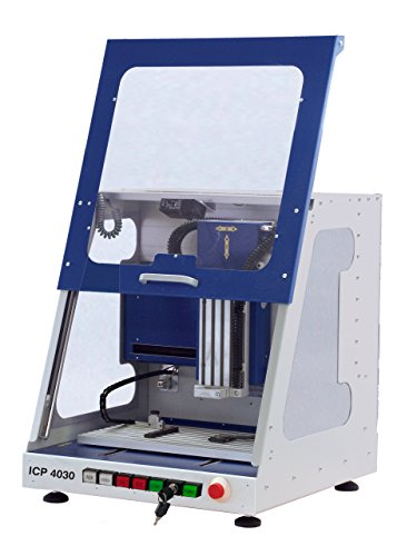 CNC- Fräsmaschine ICP 4030 inkl. Steuerung mit Universalfräsmotor UFM 500 Arbeitsraumbeleuchtung