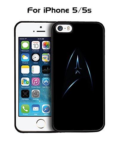 Star Trek Logo Hard Plastic Schutzhülle für Iphone 5 / 5s Protective Film + Ultra Thin Slim Cover Hülle Case Case Protective Film