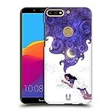 Head Case Designs Unter Dem Mondlicht Schlafen Traum Wolke Ruckseite Hülle für Huawei Honor 7C / Enjoy 8