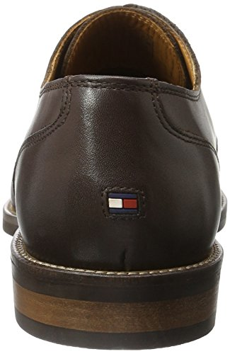 Tommy Hilfiger D2285aytona 1a, Derby Homme Beige (Coffeebean 018)