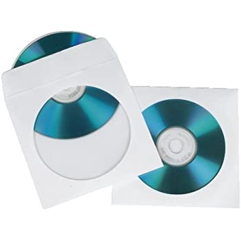 Gut bekannt Hama CD/DVD Papier-Schutzhüllen, Weiß: Amazon.de: Computer & Zubehör TQ96