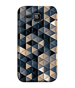 99Sublimation Designer Back Case Cover For Micromax Bolt S301 Abstract 1 Design