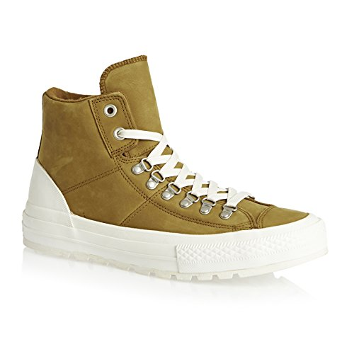 AS Salut cuir Converse Chucks 139820C Hiker2 Lea Pomme Brown Prime Chuck marron blanc