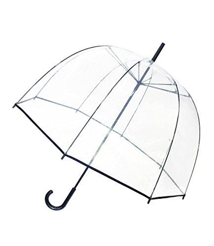 SMATI Parapluie transparent - long cloche - resistant au vent