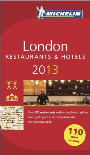 Guide Michelin Londres 2013