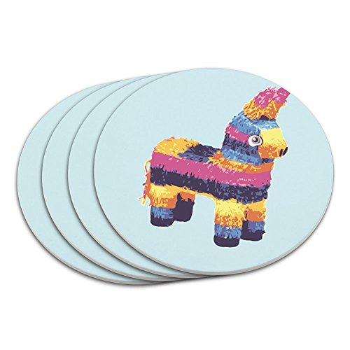 Funny Mexikanische Fiesta Cinco De Mayo Untersetzer Set (Cinco De Mayo Getränke)