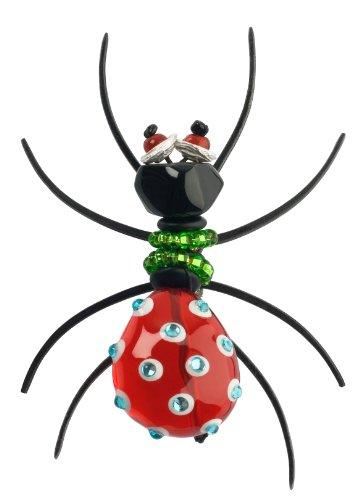 Orna Lalo Brosche Spider rot 30310