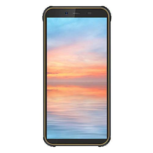 Robustes Handy entsperren, Blackview BV5500 GSM IP68 wasserdichtes Smartphone, Android 8.1 3G Dual-Karte 5,5 Zoll Quad Core 2GB + 16GB, 4400mAh Akku (Gelb) (Entsperren Handy Tmobile Handy)