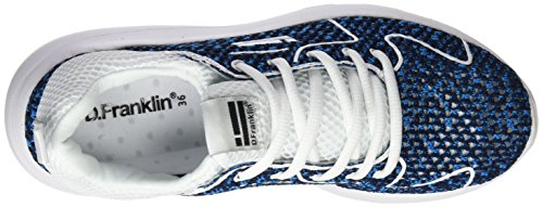 D. Franklin Hvk19201, Sneakers Basses Mixte Adulte Bleu (Blue)