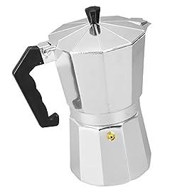 Sharplace Stovetop Espresso Maker, Italian Espresso Coffee Maker, Stainless Steel Espresso Maker Machine