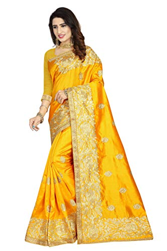 Indian Party Wear Sarees (KIMANA Indian Bollywood Women Designer Ethnic Silk Wedding Party Wear Saree S6726)