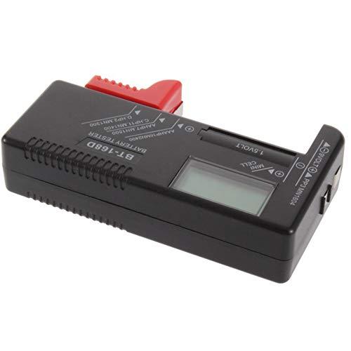 Digitaler Batterietester, Junyee Battery Volt Checker (Batterieprüfer) Test der Batteriekapazität für AA, AAA, C, D, 9 V 1,5 V BT-168D-Knopfzellenbatterien, hpdll10